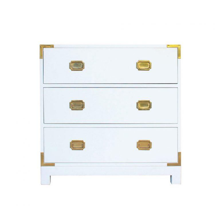 C moda de campa a blanca singular muebles e interiorismo - Comoda blanca ...